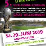 Plakat ELFK Fußballturnier 2019