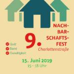 Plakat Nachbarschaftsfest 2019