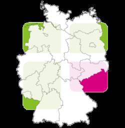 ELFK Karte Deutschland