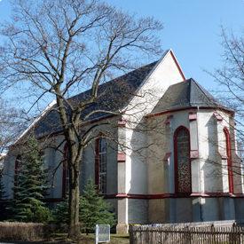 Dreieinigkeitsgemeinde Chemnitz, Kirche von außen