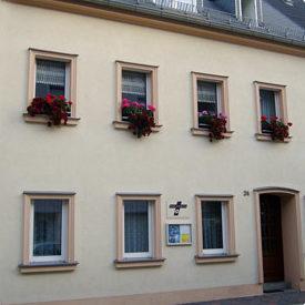 Gemeinde Zum Heiligen Kreuz Glauchau, Pfarramt