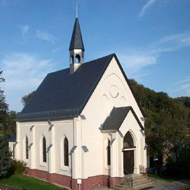 Zionsgemeinde Hartenstein, Kirche von außen