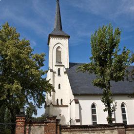 St. Johannesgemeinde Zwickau-Planitz, Kirche von außen