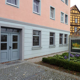 St. Paulusgemeinde Saalfeld, Pfarramt
