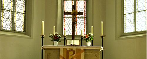 Gottesdienste, Altar
